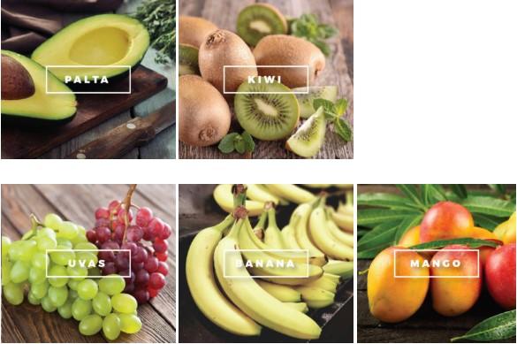 fruta de importacion